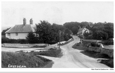 Main Road to Eastbourne 1920