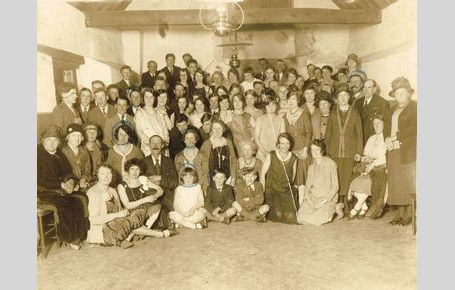 Old Village Hall opening dance July 1929